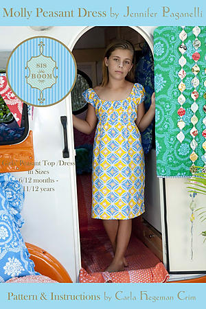Molly Peasant Dress by Jennifer Paganelli and Carla Hegeman Crim