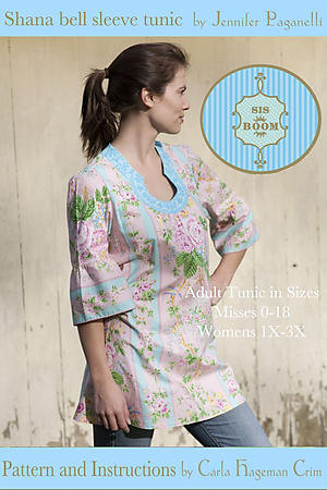 Shana Tunic by Jennifer Paganelli and Carla Hegeman Crim