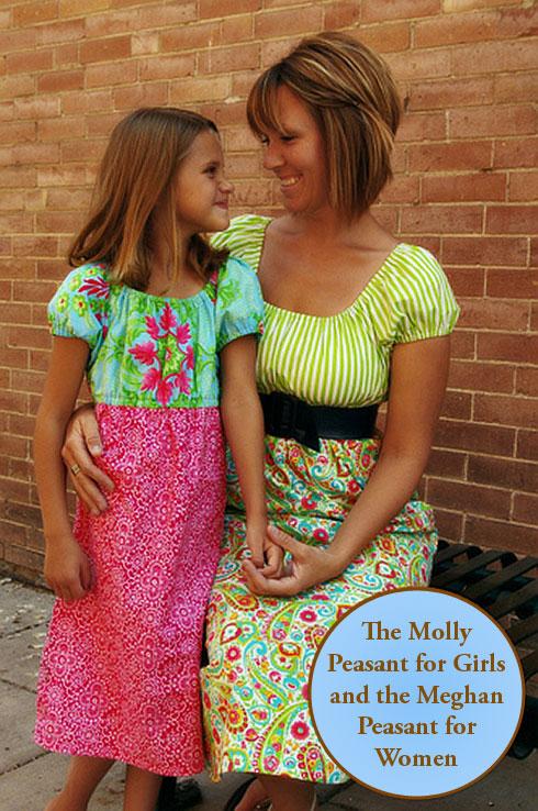 The Molly Peasant for Girls and the Meghan Peasant for Women