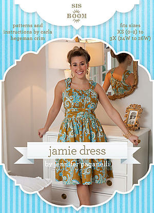 Jamie Dress by Sis Boom Patterns