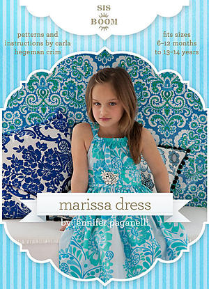 Marissa Dress by Sis Boom Patterns
