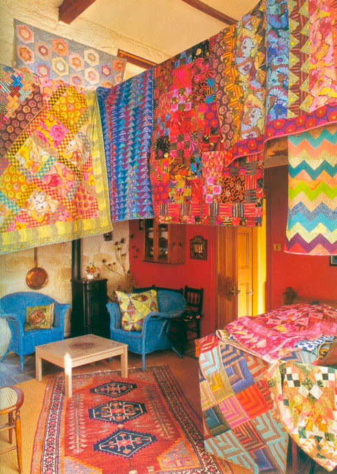"from Kaffe Fassett's ""Quilt Road"""