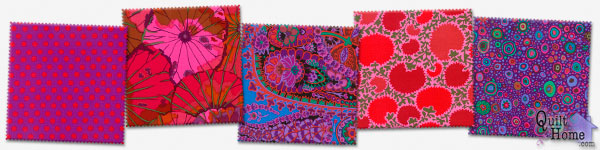Enable images to see Red/Purple Palette by Kaffe Fassett