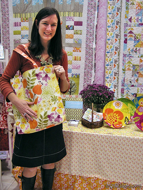 Kate Spain at Fall Quilt Market 2010