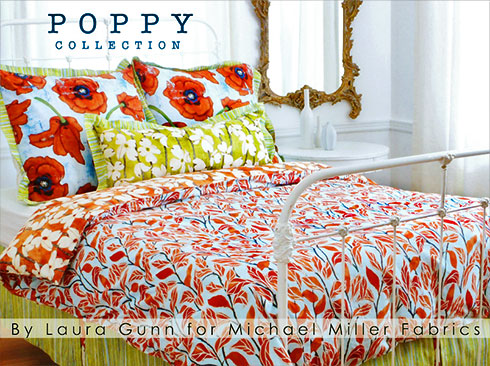 Poppy Collection by Laura Gunn for Michael Miller Fabrics