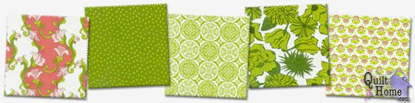 C4004-Coral, C4007-Green, C4001-Green, C4002-Green, C4006-Green