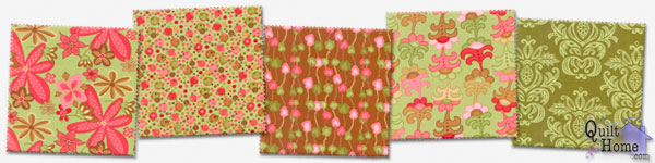 Woodland Bloom by Lila Tueller — Sprout Palette : 16010-11, 16012-11, 16013-16, 16011-11, 16018-11