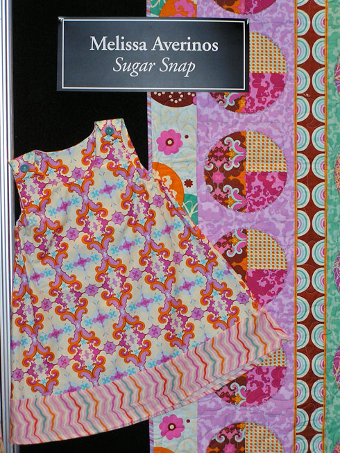Sugar Snap by Melissa Averinos at Quilt Market