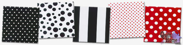 Michael Miller Dots & Stripes