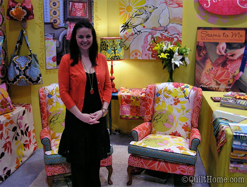 Anna Maria Horner at Quilt Market