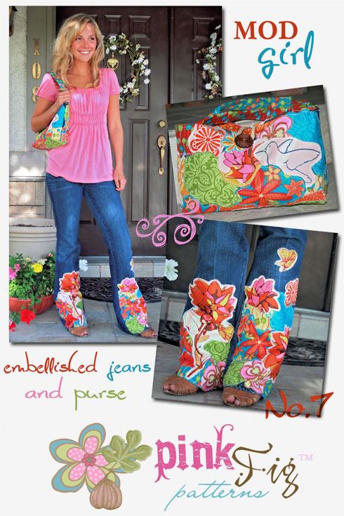 Mod Girl pattern — photo courtesy: Pink Fig Patterns