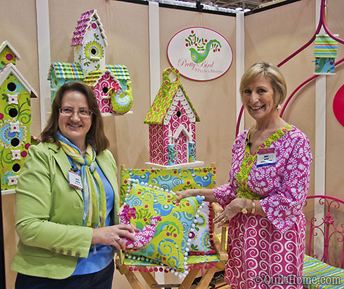Head Angel Heidi with Anne Maxfield of Pillow & Maxfield