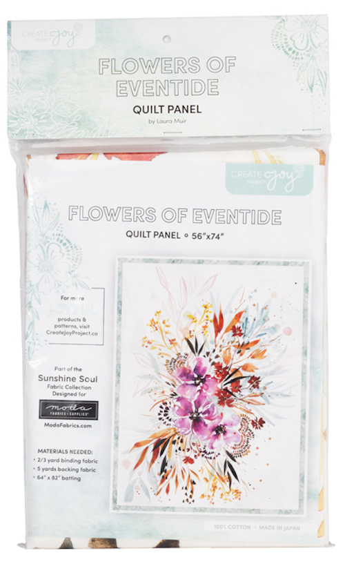 Sunshine Soul Flowers of Eventide Package Panel by Create Joy Project