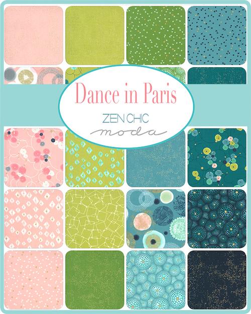Dance in Paris by Zen Chic
