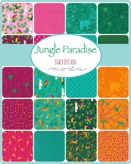 Jungle Paradise Charm Pack by Stacy Iest Hsu