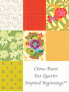 Citrus Burst Fat Quarter Inspired Beginnings™