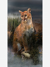 Call of the Wild Q4490-141-Pine Fabric Panel by Hoffman Fabrics