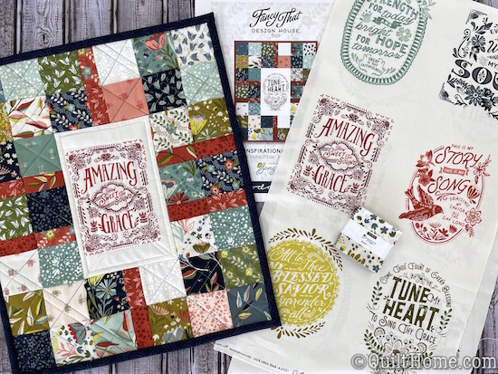Sew Inspirational Mini Quilt Kit by Fancy That Design House