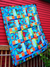 Window Panes Quilt Kit by Sue Penn