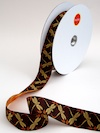 Dragonflies Jacquard Ribbon - Bordeaux by Patty Young
