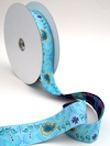Playful Paisley Jacquard Ribbon - Sky by Patty Young