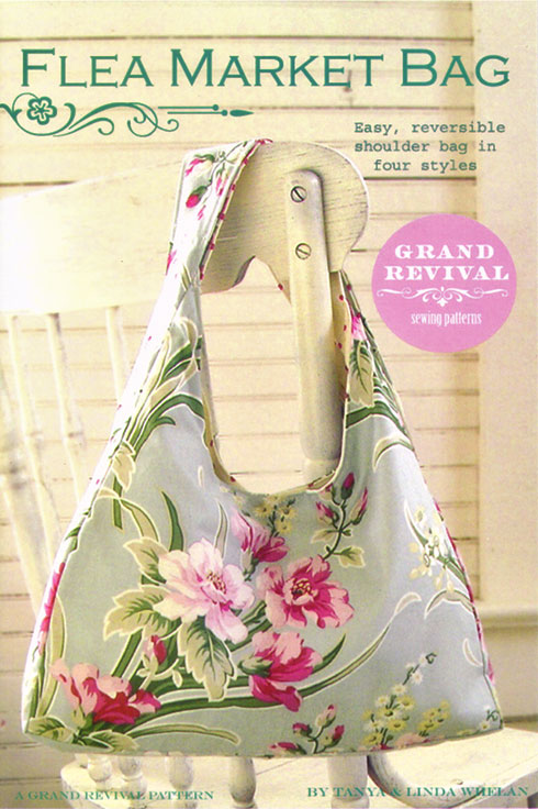 Flea Market Bag Pattern by Tanya & Linda Whelan