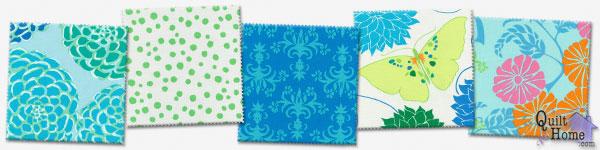 Valori Wells—Del Hi—Mediterranean Palette : VW17-Sapphire, VW23-Foliage, VW22-Ocean, VW16-Sapphire, VW19-Ocean