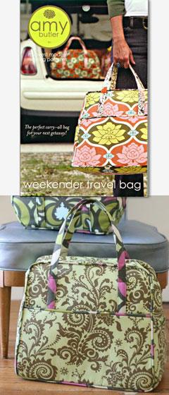 Amy Butler Weekender Travler Bag