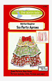 Mother-Daughter Tea Party Aprons