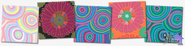 Wide Backing by Kaffe Fassett