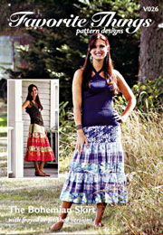 The Bohemian Skirt