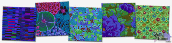 Enable images to see The Kaffe Fassett Fabric Collection
