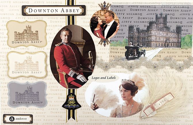 Downton Abbey® - Logos And Labels Collection