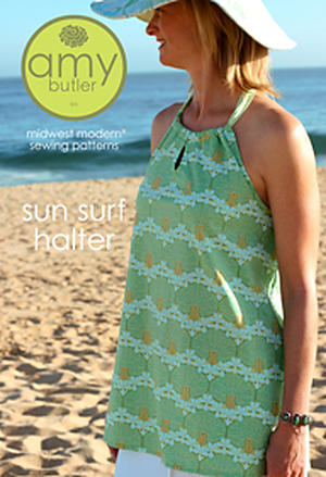 Sun Surf Halter by Amy Butler