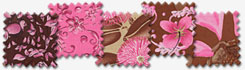Enable Images to see Sweet Poppies - Brown/Pink